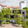 Nhà đẹp - Nhà đá hình xuyến giành giải kiến trúc xanh VN