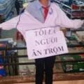 """Tin tức - Vụ đeo bảng """"tôi ăn trộm"""": Bắt 4 NV siêu thị"""