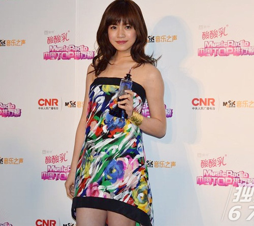 sao cbiz toa sang tai music radio awards 2014 - 7