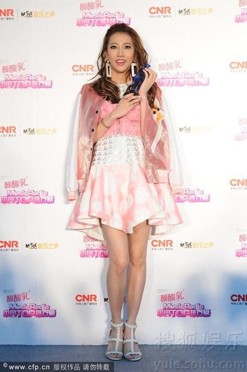 sao cbiz toa sang tai music radio awards 2014 - 8