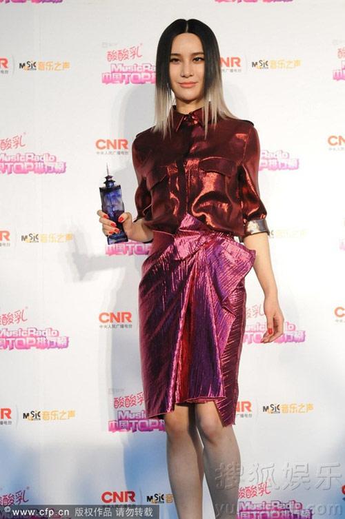 sao cbiz toa sang tai music radio awards 2014 - 10