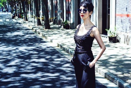 xuan lan lam dao dien catwalk tai thuong hai - 9