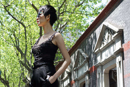 xuan lan lam dao dien catwalk tai thuong hai - 6