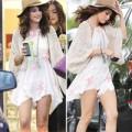 """Làng sao - Eva """"soi"""" 28/4: Selena diện váy ngắn cũn"""
