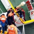 Tin tức - Cảnh tượng thuyền trưởng Hàn Quốc trốn khỏi tàu chìm