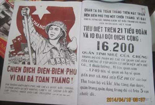 to bao duy nhat xuat ban tai 'chao lua' dien bien phu - 1