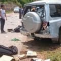 Tin tức - Xe lên Điện Biên nổ lốp, 3 cán bộ công an tử nạn