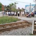 Tin tức - Bị tàu hỏa kéo lê 50m, một phụ nữ tử vong