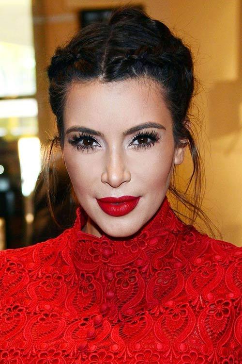 11 kieu toc kardashian nen de trong le cuoi - 11