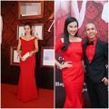 Làng sao - Á hậu Thu Hương, Hoàng Oanh đỏ rực đi tiệc