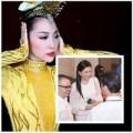 Làng sao - Mẹ chồng Hà Tăng giản dị xem Linh Nga múa