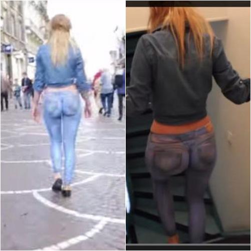 "nguoi mau mac quan jeans ""ao"" dieu pho - 6"