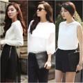 Thời trang - Công sở xinh ngất ngây với bộ đôi đen trắng