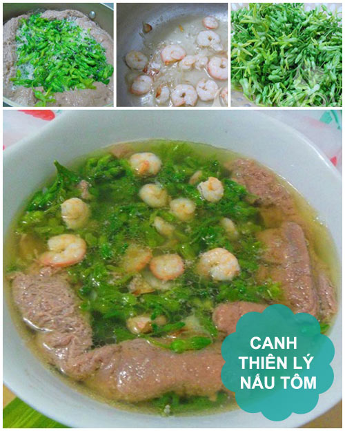 thuc don: ca kho, canh thien ly - 2