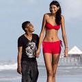 Làm đẹp - Hình ảnh cô gái cao nhất thế giới