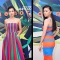 Thời trang - Cơn sốt váy kẻ 'mê hoặc' Sao Việt