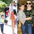 Làng sao - Flynn tung tăng bên mẹ Miranda Kerr