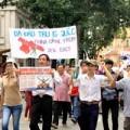 Tin tức - Hàng ngàn người dân TP.HCM xuống đường phản đối TQ