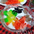 Bếp Eva - Nắng nóng làm sữa chua thạch giải nhiệt