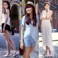 Thời trang - Thời trang đường phố giản dị của HH Diễm Hương
