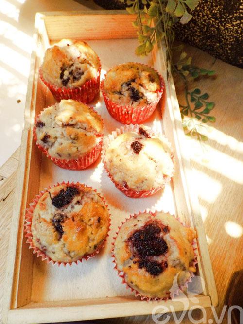 banh muffin dau tam day hap dan - 13