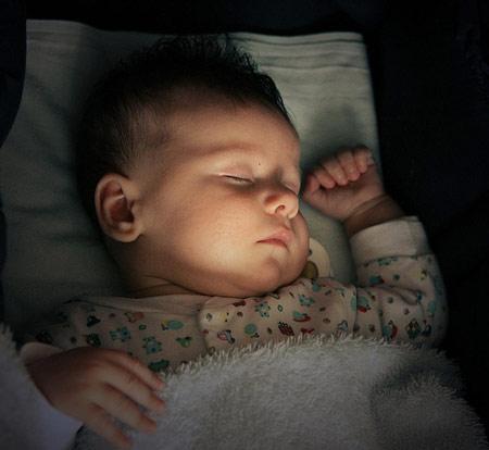 Khi thoải mái trẻ sẽ ngủ ngoan hơn