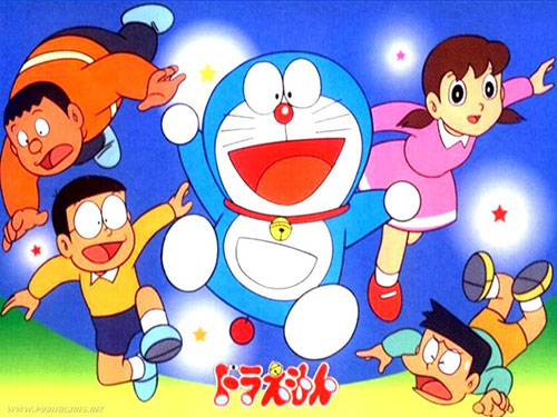 hang disney mua lai chu meo may doraemon - 1