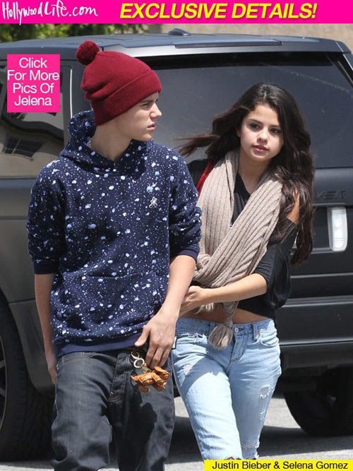 selena bac tin don co bau voi justin bieber - 1