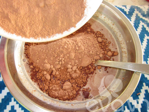 cuoi tuan lam kem chocolate giai nhiet - 4