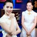 Làng sao - Á hậu Thiên Lý đeo trang sức tiền tỷ dự event