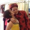Khánh Linh hôn chồng khi thử áo cưới