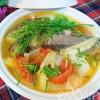 Bếp Eva - Cá chép nấu măng chua