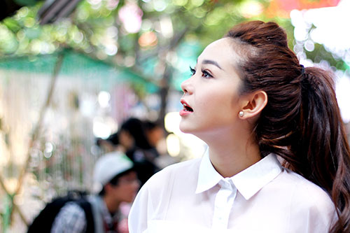 """bat gap """"sinh vien"""" minh hang cuc de thuong - 1"""