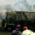 Tin tức - Cháy xe bus, 32 học sinh chết thảm