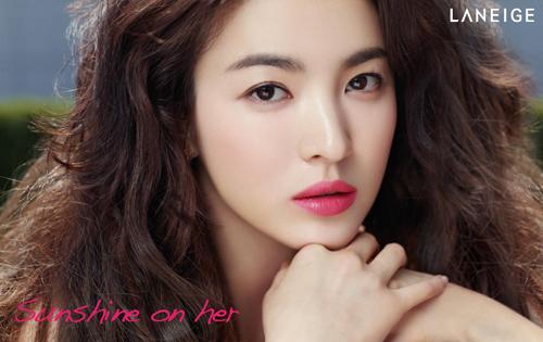 song hye kyo - nang tho tren tap chi elle - 2