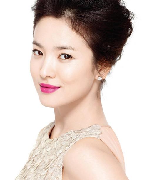 song hye kyo - nang tho tren tap chi elle - 7