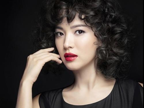 song hye kyo - nang tho tren tap chi elle - 8
