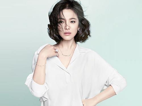 song hye kyo - nang tho tren tap chi elle - 6