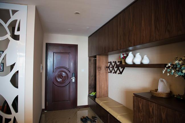 Tổ ấm của Hải Anh nằm ở khu chung cư cao cấp khá nổi tiếng ở Hà Nội. Đây là sự lựa chọn của nhiều người nổi tiếng như vợ chồng Tuấn Hưng...