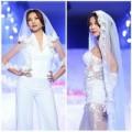 """Thời trang - Mặc váy cưới """"nổi loạn"""" như Thanh Hằng"""