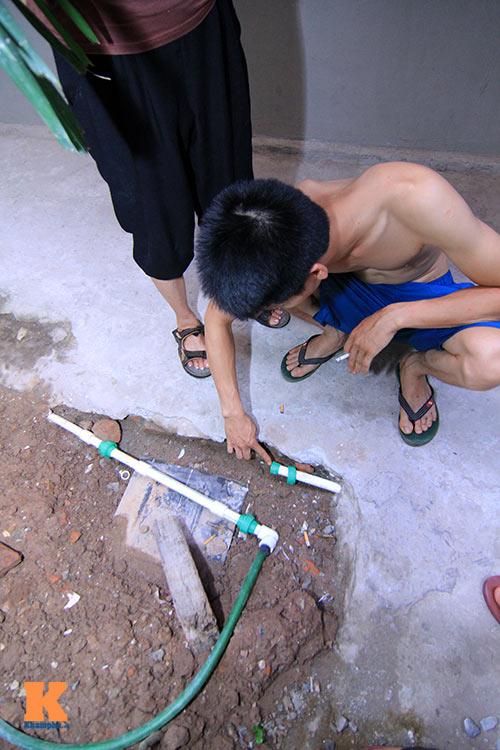 ha noi: hang ngan ho dan khon don vi mat nuoc - 4