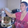 Làm mẹ - Nhập viện vì mẹ pha nhầm sữa bột với rượu
