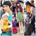 Làng sao - Ba cặp mẹ con sành điệu của showbiz Việt