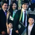 Làng sao - Thu Hương tự hào vì con riêng của chồng học giỏi