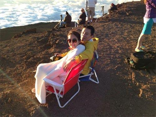 vo chong lam truong lang man o hawaii - 1
