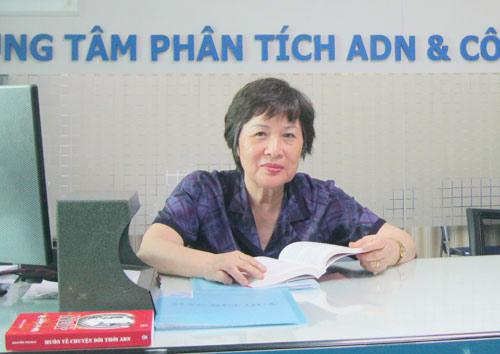 Chuyện chưa kể về bà giám đốc TT xét nghiệm ADN (Kỳ 1)-1