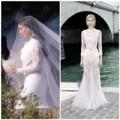 Thời trang - Kim 'siêu vòng 3' diện váy cưới Givenchy lộng lẫy