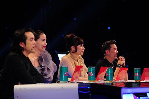 """X-Factor: F-Band gây """"sốt"""" với Chuồn chuồn ớt-1"""
