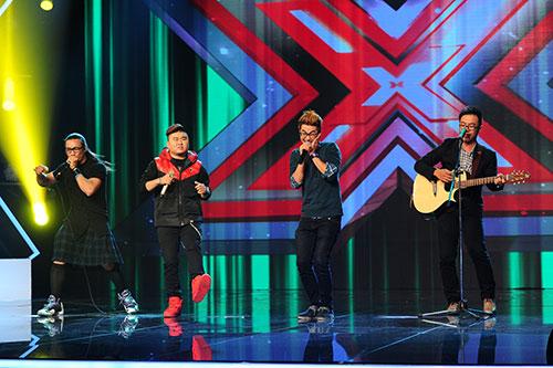 """X-Factor: F-Band gây """"sốt"""" với Chuồn chuồn ớt-9"""