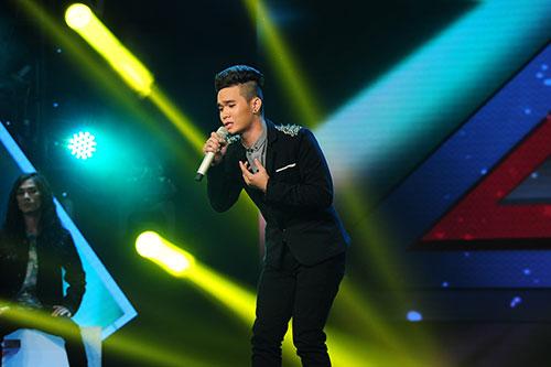 """X-Factor: F-Band gây """"sốt"""" với Chuồn chuồn ớt-4"""